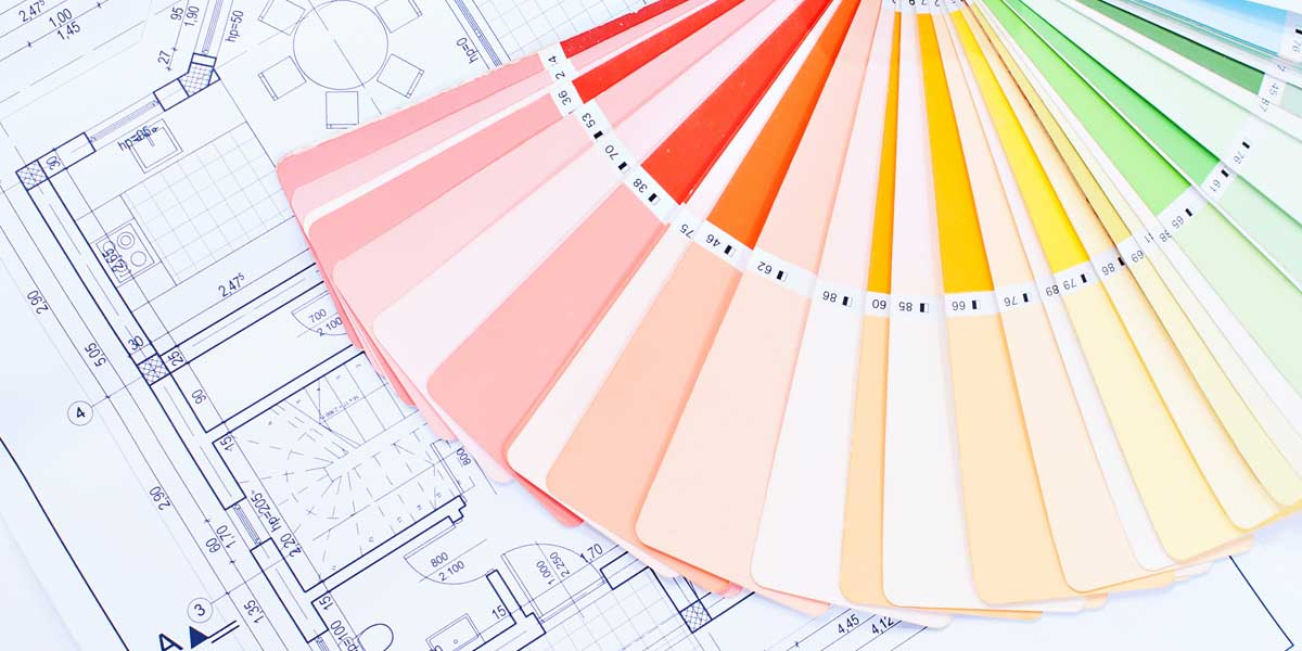 Interior Design Colors And Floor Plans