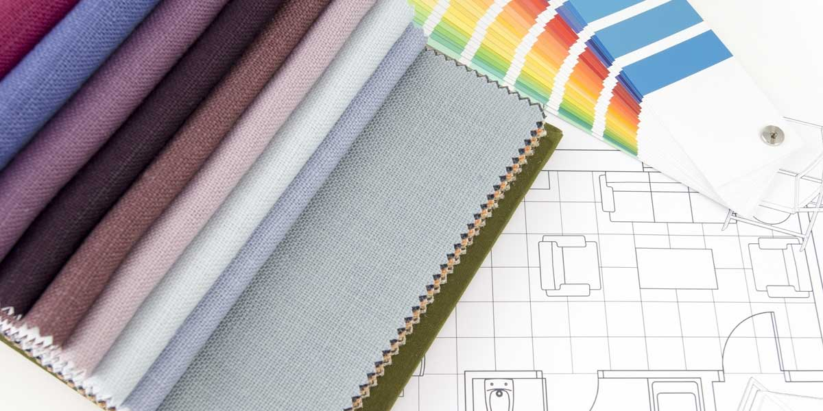 Interior Design Fabric Swatches