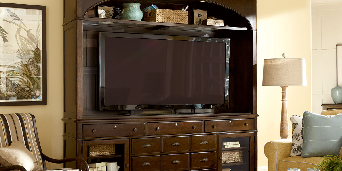 Paula Deen River House Entertainment Center Furniture