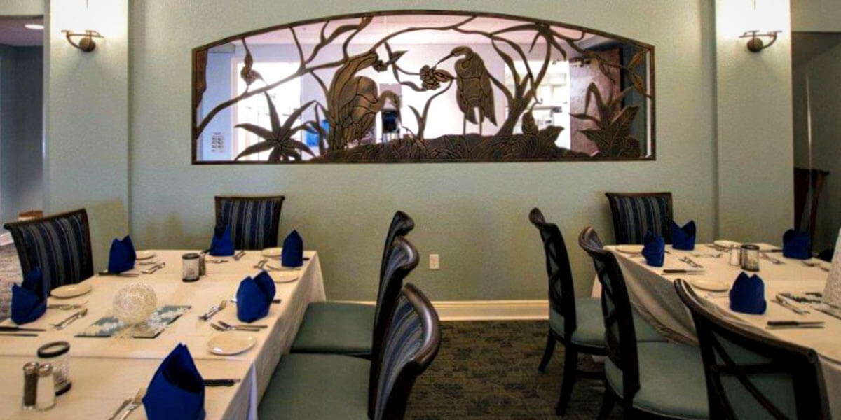Country Club Tampa Interior Designer - Dining Room